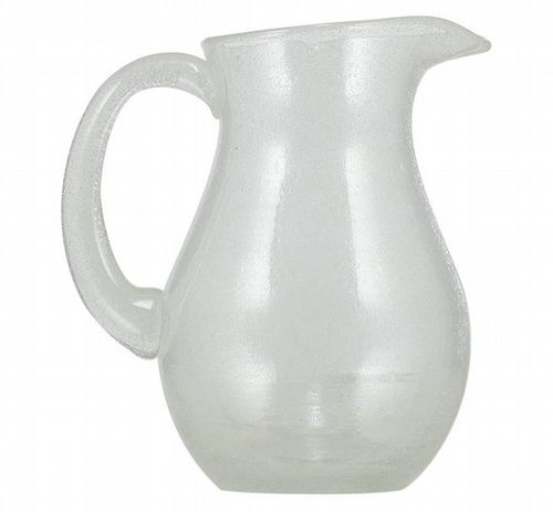 Recycled Glass Jug - Clear